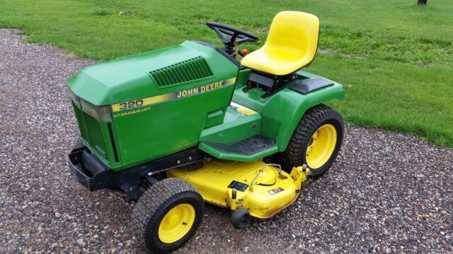 John Deere 320 Garden Tractor Great Running Machine For