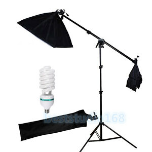 Image is loading Photography-Studio-Softbox-Continuous-Lighting-Boom-Arm -Soft-  sc 1 st  eBay & Photography Studio Softbox Continuous Lighting Boom Arm Soft Box ...