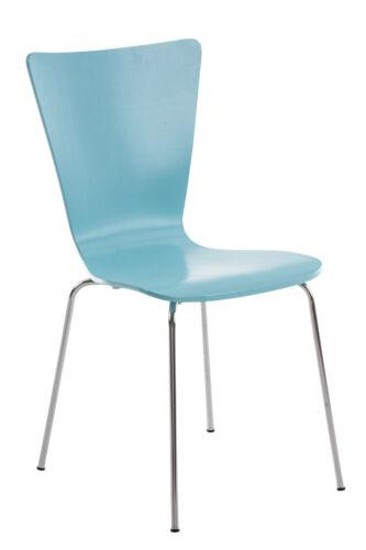Besucherstuhl AARON mit Lehne Stapelstuhl Konferenzstuhl Küchenstuhl stapelbar