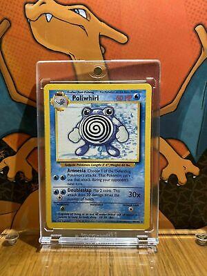 38//102 Pokemon Card. NM Poliwhirl Base Set 1999 Unlimited Print