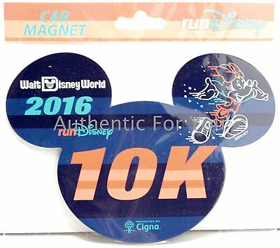 Disney runDisney 2016 Marathon Weekend Mickey Mouse 26.2 Mickey Ear Car Magnet