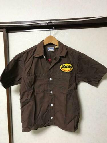 BUCO Authentic Short Sleeve Hickory Work Shirt Si… - image 1