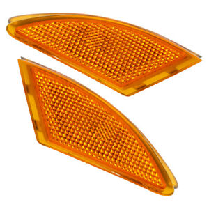 Bumper Turn Signal Light Left+Right For Mercedes Benz R320 R350 R500 R63 AMG New