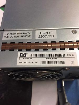 592267-001 HP StorageWorks PS2000 G3 MSA2000 573 WATT PS