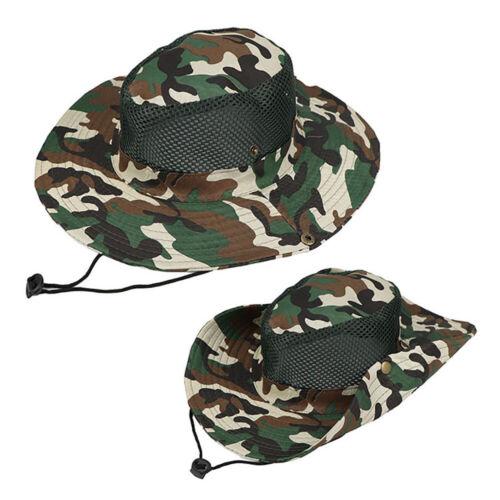 MEN HAT SUN CAP MILITARY ARMY GI STYLE BOONIE JUNGLE RIPSTOP COMBAT BUSH