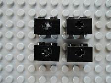 4233487 Lego Stein Technic 1 x 2 mit Kreuzloch Schwarz 10 Stück
