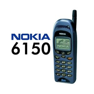 TELEFONO-CELLULARE-NOKIA-6150-BLU-BLUE-CANDY-BAR-GSM-GIOCHI-USATO