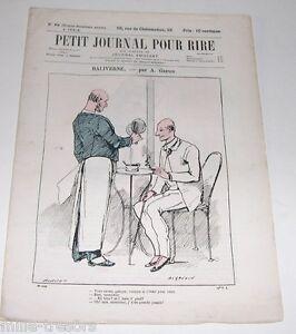 Revue Illustrée PETIT JOURNAL pour RIRE N° 75 (32ème Année) L'ILE GRANDE JATTE