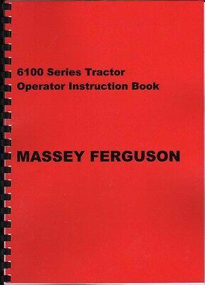 "Massey Ferguson /""4200 Series/"" Tractor Instruction Manual Book"