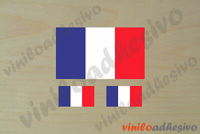 Bandera Francia vinyl. France French flag Sticker pegatina aufkleber vinilo