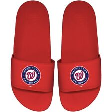 Washington Nationals ISlide Primary Motto Slide Sandals - Red