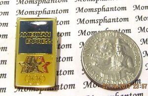 American Express Usa >> American Express Stars Usa Olympic Rings Lapel Pin Pinback Hat Ebay