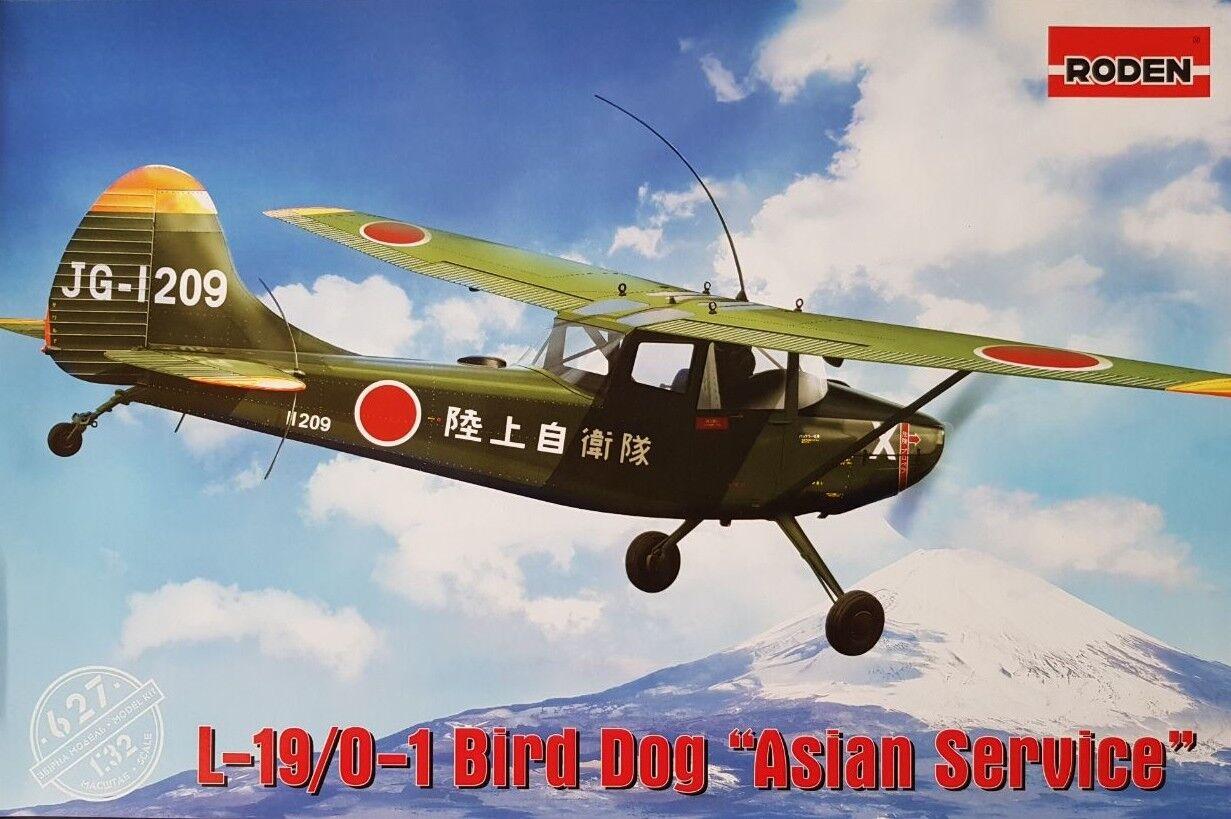 RODEN 627 1 32 L-19 0-1 Bird Dog  Asian Service     Exquisite (mittlere) Verarbeitung