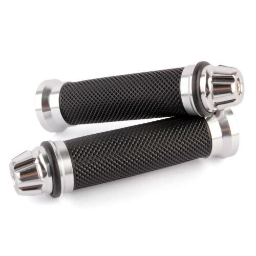 "For Suzuki GSXR1000 750 600 SV650 CUSTOM MOTORCYCLE 7//8/"" HAND GRIPS RUBBER US"