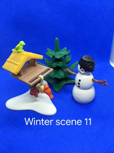 Playmobil Xmas spares 9485 and small sets