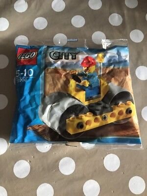 Lego City Road Roller 30003 Polybag BNIP
