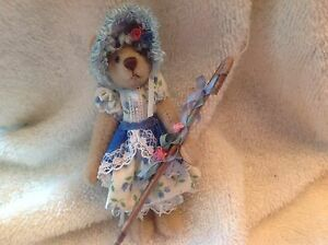 Bears Knowledgeable Bo Peep World Of Minature Bears Diversified Latest Designs Dolls & Bears