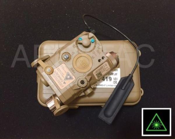 Elemento PEQ15 LA5-C puntero láser integrado UHP ir dispositivo de luz EX419 FDE tan