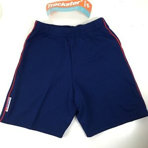 """Bademode Hilfreich Ronhill Running Shorts 26"""" Navy With Red Stripe R241-11"""
