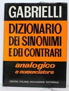 Dizionario-dei-sinonimi-e-dei-contrari-Gabrielli-CIDE-1981