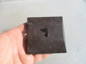 Vintage Bakelite Light Switch Art Deco 1930's Architectural Antique Old Square