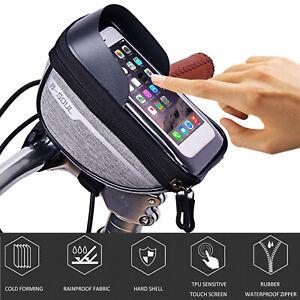 Bicycle-Cycling-Bike-Front-Top-Tube-Frame-Bag-MTB-Waterproof-Phone-Holder-Case