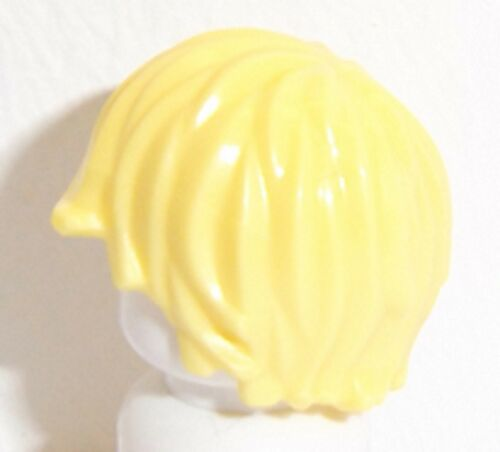 Lego Boy Wig Hair x 1 Cool Yellow for Minifigure