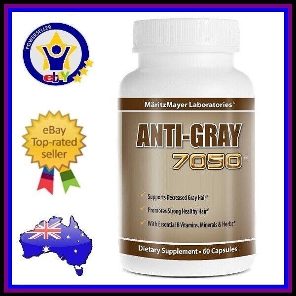 ANTI GRAY 7050 Maritz Mayer Grey Hair Vitamins Catalase Hair Loss Supplement
