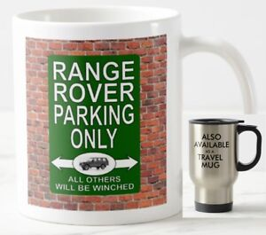 PERSONALISED IF REQUIRED IDEAL GIFT RANGE ROVER EVOQUE CERAMIC MUG