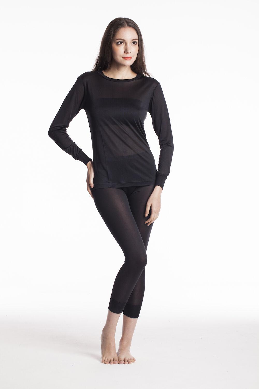 Jasmine Silk Ladies' Pure Silk Thermal Long Johns