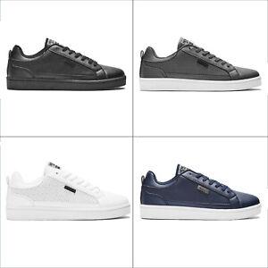 Henleys-Para-hombre-Drexel-Cupsole-Con-Cordones-Zapatillas-Bajo-Top-Zapatos-Zapatos-De-Salon-Casual