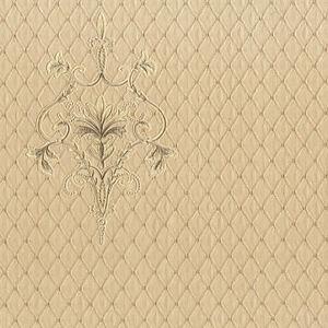 94441 Ornamenta Geometrique Motif Beige Dore Galerie Papier Peint