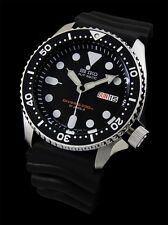 NEW MEN'S SEIKO 200M DIVER'S AUTOMATIC 21 JEWELS ANALOG SPORTS WATCH SKX007J1
