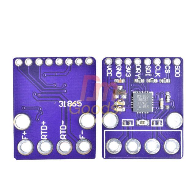 MAX31865 PT100 - PT1000 RTD Temperature Thermocouple Amplifier Sensor Detector