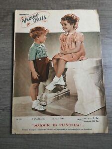 weekblad Vrouw en huis van 23 juli 1949