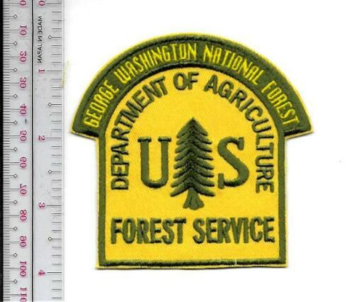 National Forest USFS Virginia George Washington National Forest US Forest Servic