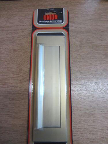 Union DY5621 Aluminium Letter plate