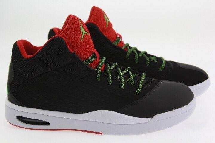 79a2435dcadf38 Jordan Men Men Men New School black green pulse gym red white 16780e ...