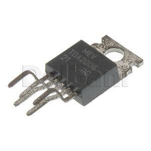 TDA2006-Original-New-MEV-Integrated-Circuit-NTE-1378-ECG-1378