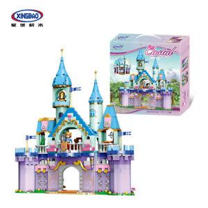 Xingbao-Bausteine-Modellbausaetze-Prinzessin-Prinz-Schloss-Royal-Castle-Baukaesten