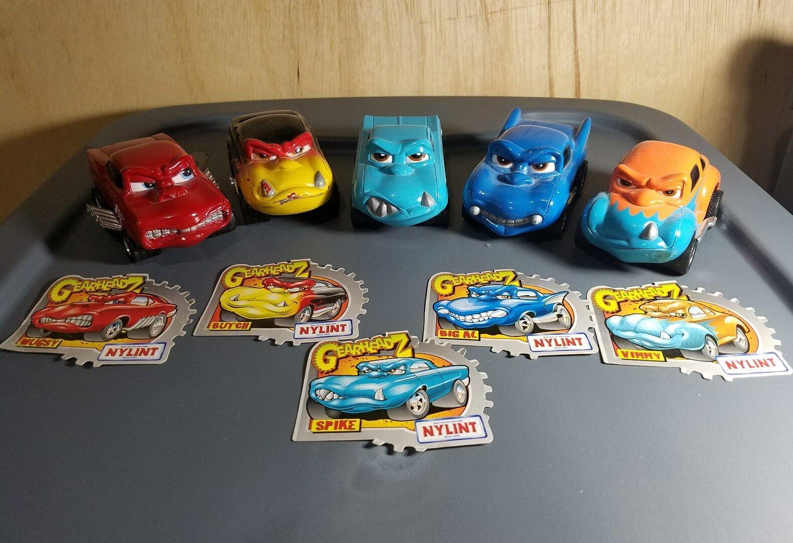 Nylint GearheadZ 5 Diecast Cars NICE RARE LOT