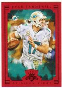 2015-Panini-Gridiron-Kings-Framed-Parallel-Red-Frame-5-Ryan-Tannehill-Dolphins