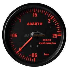 Road-Italia-Manometro-Pressione-Turbo-Abarth-Delta-1-2-bar-diam-80-BINE108120