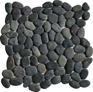 1m2-Black-Pebble-Mosaic-wall-floor-tiles-perfect-for-wetrooms-showers