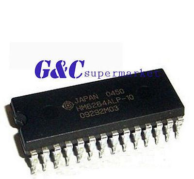 2PCS IC HM62256LP-12 HM62256LP-10 HITACHI  DIP28  NEW GOOG QUALITY