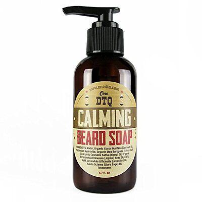 Helpful One Dtq Beard Soap - Calming Blend 4 Fl Oz. New Fragrant Aroma