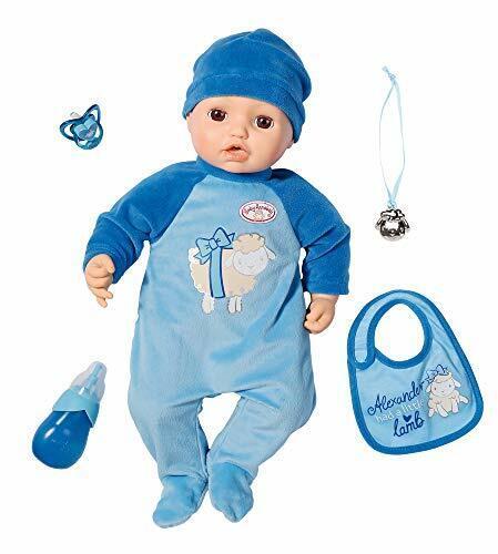 Zapf Creation 702482 Baby Annabell Alexander 43cm