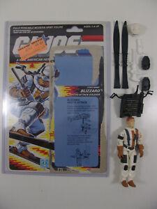GI-Joe-Vintage-ARAH-Blizzard-Figure-100-Complete-Full-Uncut-File-Card-Cardback