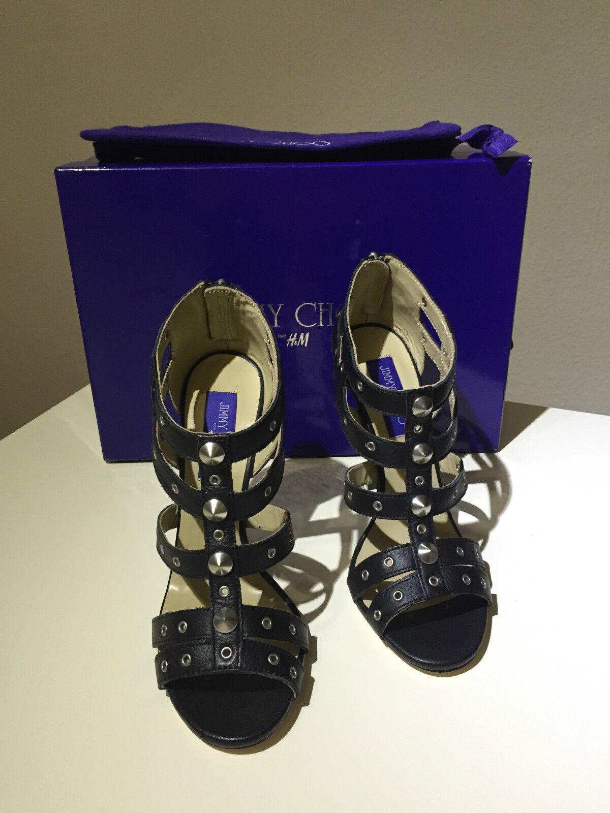 Jimmy Choo for H&M Schuhe Gladiatoren High Heels 8 Pumps Gr. 39 US 8 Heels UK 6 neu new e282b5