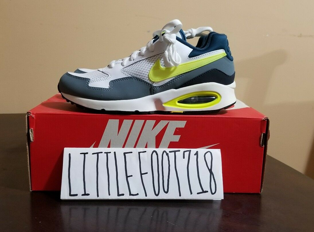NIKE AIR MAX ST RUNNING WHITE VOLT 652976 102